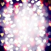pretty bokeh for holiday designs like christmas of new year's eve with an instagram like filter