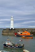 Donaghadee Lighthouse And Harbour