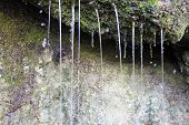 foto of groundwater  - Source of spring water - JPG