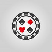 picture of crap  - The casino chip icon - JPG
