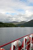 Scotland Lake View From Boat