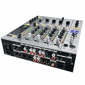 picture of mixer  - Mixer back cover with the slots and jacks - JPG