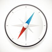 picture of compass rose  - Dial of compass with wind rose vector icon - JPG