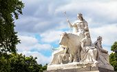 "Allegorical Sculpture  ""europe"", Part Of Prince Albert Memorial In London, Great Britain poster"