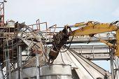 Demolition Of A Factory
