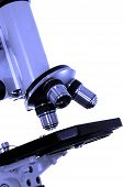 image of criminology  - closeup of a microscope  - JPG