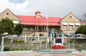 Court House Government House Of Assembly A.p.t. James Memorial Park  Scarborough Tobago
