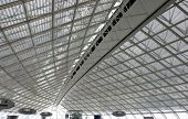 Abstract Roof In Paris Airport