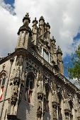 Gothic Town Hall Of Middelburg
