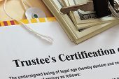 Trustee Certification