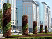 Bürogebäude und Business Center
