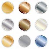 Set of Metallic Seals