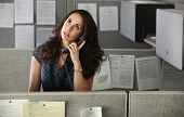 Stressed Out Woman Office Worker