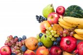 Fresh And Ripe Fruits