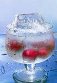 Cherry met ijs