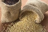 Raw Quinoa Grains