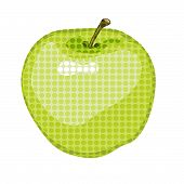 Big Green apple gone dotty!