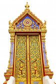 Temple Thai Door