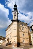 stock photo of banska  - Town hall in Banska Stiavnica Slovakia - JPG