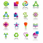Abstract Icon & Symbols Set