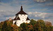 picture of banska  - New Castle and Calvary in Banska Stiavnica - JPG