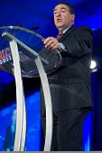 NEW ORLEANS, LA - JUNE 16: Former Governor Mike Huckabee addresses the Republican Leadership Confere
