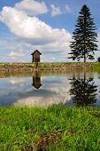 picture of banska  - Spring Lake Ottergrund in Banska Stiavnica - JPG