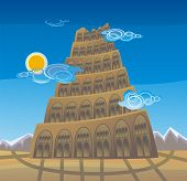 foto of babylon  - The Tower of Babel - JPG