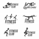 Aerobic Workout Logo poster