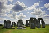 Stonehenge, A Megalithic Monument In England Built Around 3000Bc