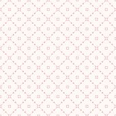 Vector Geometric Floral Seamless Pattern With Small Flower Shapes, Delicate Grid, Net, Mesh, Lattice poster