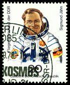 Vintage  Postage Stamp.  Sigmund Jahn.
