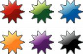 Star Burst Icons