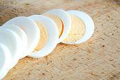 Sliced Egg