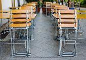 Little Empty Summer Cafe