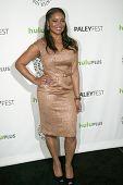 BEVERLY HILLS, CA - MARCH 9: Tamala Jones arrives at the 2012 Paleyfest