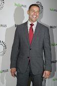 BEVERLY HILLS, CA - MARCH 9: Jon Huertas arrives at the 2012 Paleyfest