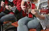 Gitarrist Duett