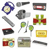 isolated entertainment items