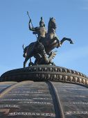 Moscow, Russia, Monument To St. George poster