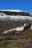 White village, Capileira, Andalusia, Spain.