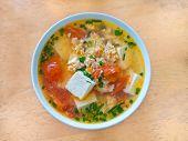 Vietnamese Sour Tofu Egg Soup