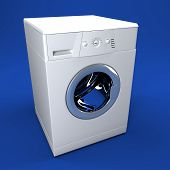 3D Washing Background