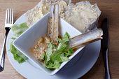 Razor Fish In Garlic  Sauce
