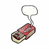 matchbox cartoon character