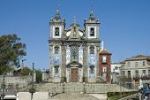Santa Clara Church At Porto, Portugal