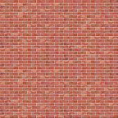 A Vector Red Brick Wall