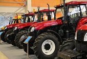 Tractors On Exhibition