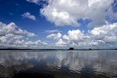 Rufiji River In Southern Tanzania