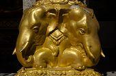 Elephant Carving, Thailand
